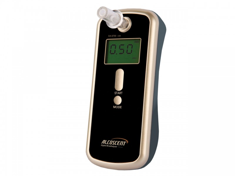 DA 8700 USB - Firemní alkohol tester Fuel Cell