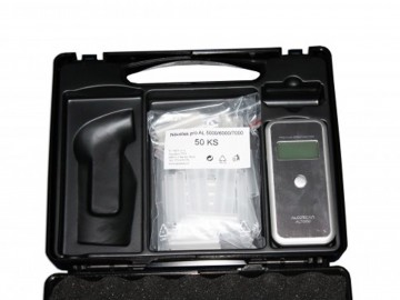 Kufřík pro detektory alkoholu