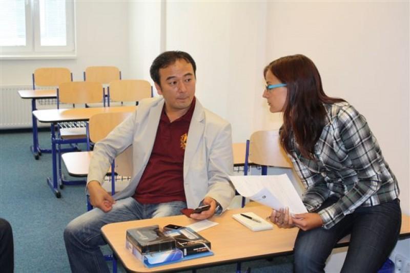Návštěva z firmy Sentech Korea